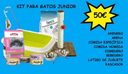 PACK GATOS JUNIOR